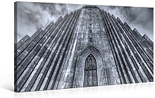 Large Canvas Print Wall Art – BLACK and WHITE