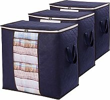 Large Capacity Clothes Storage Bag Organizer with