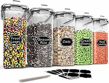 Large Cereal & Dry Food Storage Containers -