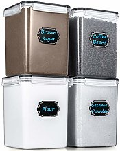 Large Cereal Storage Containers, Wildone Airtight
