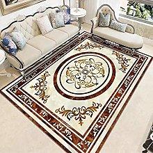Large Chinese Rectangular Carpet, Home Thickened