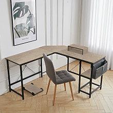 Large Computer Desk L-Shaped Corner Workstation