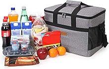 Large Cooler Bag,33L Picnic Cool Bag Lunch Bag Box