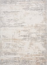 Large Cream and Grey Rug - 120x180cm - Astral