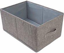 Large Cube Storage Boxes Foldable Fabric Storage