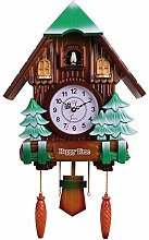Large Cuckoo Clock Silent Non Ticking Wall Clock