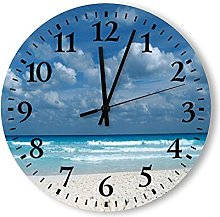 Large Decorative Wall Clock,Round Numeral