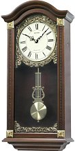 Large Deluxe Wooden Pendulum Wall Clock -