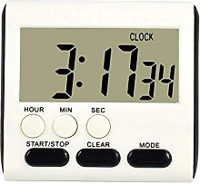 Large Digital LCD Kitchen Cooking Timer Loud Alarm