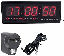 Large Digital LED Alarm Timer Clock Display