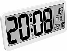 Large Digital Wall Clock Battery-MQUPIN