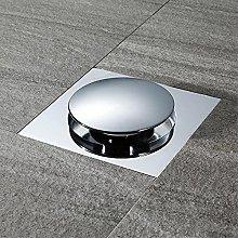Large Flow All Copper Bouncing Floor Drain, Odor