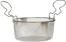 Large Fryer Basket with Curved Handle Symple Stuff