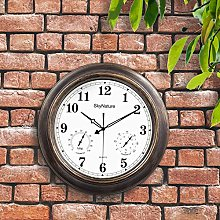 Large Garden Outdoor Clock, 45cm Waterproof Clock