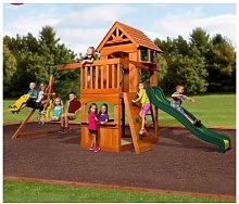 Large Garden Playcentre Wooden Children Playhouse