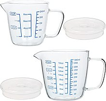Large Glass Measuring Cup Clear Shot Glass with