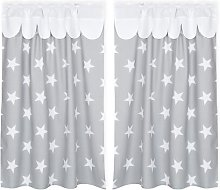 Large Grey Stars Bunk Bed Accessory KraftKids