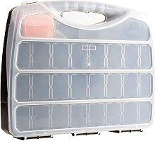 Large Hard Shell Tool Box | Maximum Compartments: