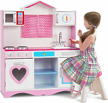 Large Kids Kitchen Toy Set Pretend Role Play