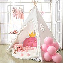 Large Linen Kids Teepee Tent Childrens Wigwam