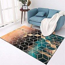 Large Living Room Rugs Three-dimensional geometric
