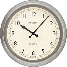 Large Metal Lascelles Circular 45cm Wall Clock