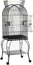Large Metal Parrot Aviary Bird Open Top Cage