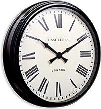 Large Metal Wall Clock - 58cm