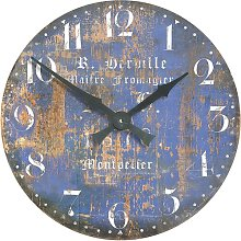 Large Montpellier Cheesemaker's Wall Clock