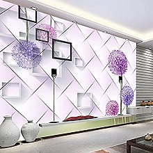 Large Mural 3D Sofa Bedroom Living Room TV