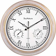 Large Outdoor Clock, 18 Inch Garden Clock with