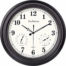 Large Outdoor Clock, 18 Inch Waterproof Clock with
