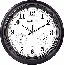 Large Outdoor Clock, 45cm Garden Clock with