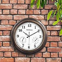 Large Outdoor Clock, 45cm Waterproof Garden Clock