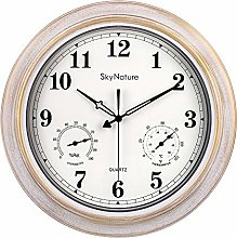 Large Outdoor Clocks, Waterproof Clock with