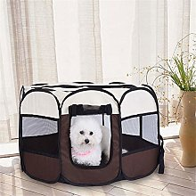 Large Outdoor Dog Octagon Fences Washable Oxford
