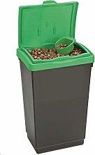 Large Plastic Storage Bin + Scoop Bird Seed Animal