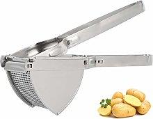 Large Potato Ricer Masher, Professional Stainless