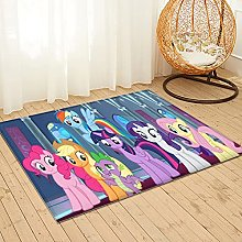 Large Puzzle My Little Pony Rug Soft Fluffy