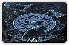 Large Puzzle Ravens Norse Mythology Viking Bath