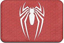 Large Puzzle Spiderman Bath Mat Rubber Non Slip