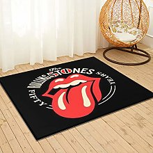 Large Puzzle The Rolling Stones Shaggy Rug Runner