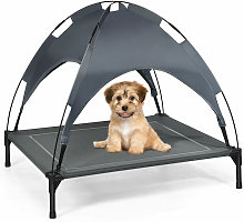 Large Raised Dog Bed Puppy Pet Cot Elevated Tent
