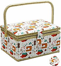 Large Sewing Basket with Accessories, Sewing