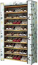 Large Shoe Rack With Cover, For Entrance Hall Door