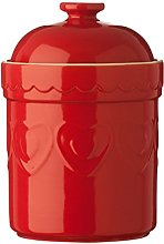 Large Size Sweet Heart Storage Canister Made of