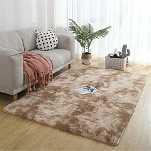Large Soft Shaggy Rug 40mm Thick For Living Room