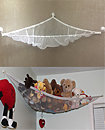 Large Soft Toy Hammock Mesh Net Teddy Bear Keep