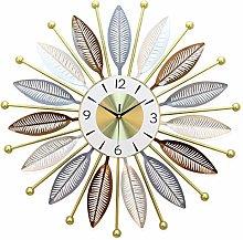 Large Sunburst Big Fancy Decorative Clock with