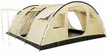 Large tunnel tent, 6 people, beige / sand, 5000 mm